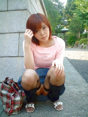 Japanese Exhibitionist and Flasher Ladies 16