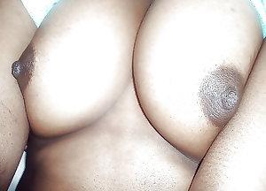 Sri lankan girl at her bodim in free time