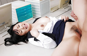 Japanese secretary fucked at work