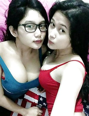 Malay Teen with Massive Tits