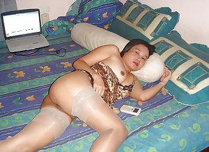 thailand thai lady in stockings 2