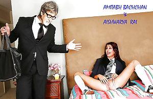 Aishwarya-Amitabh ki mastiyan
