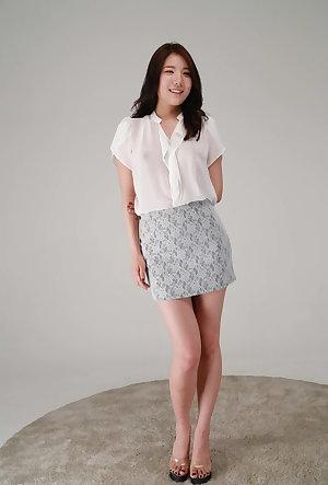 Korean Model Studio Shots