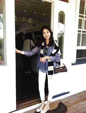 Korean air hostess creampie