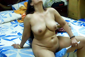 Indian aunty show 54
