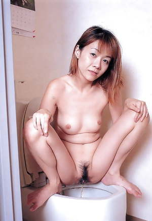 Naughty Asian girls peeing
