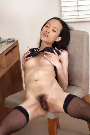 Hairy asian pussies