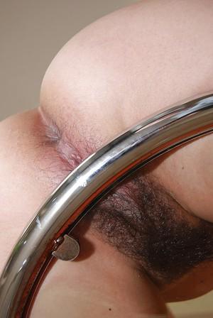 Close up masturbation of an petite Asian babe Rika Hirashita