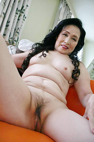 Sexy asian old slut