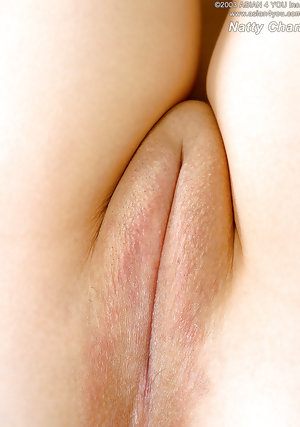 Tight shaved Asian pussy
