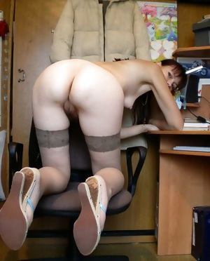 My own slut with cunt wide open