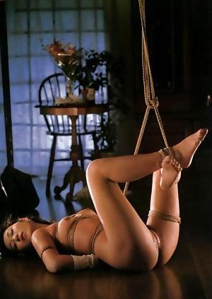 Submissive Japanese girls only shibari BDSM