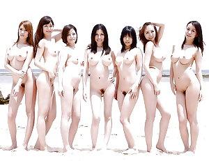 Naked Girl Groups 113 - Random Asian Groups