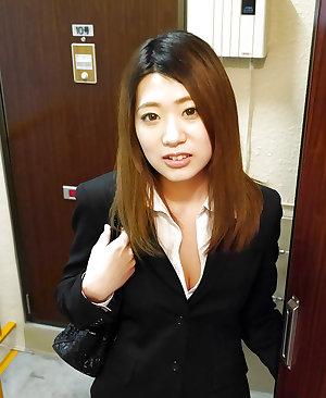 Japanese secretary fucked