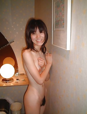 Naked young Japanese girl 2