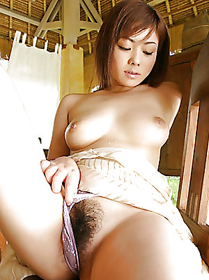 Asian Hairy Amateur Pussy