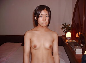 Cute Japanese girlfriend close-up hot pink vagina