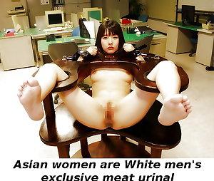 Asian girls for White men Caption