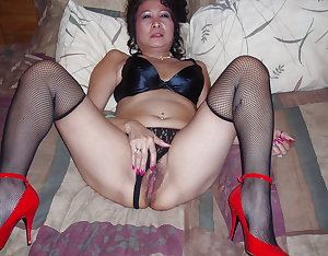 Asian Mature Pussy Mix 4