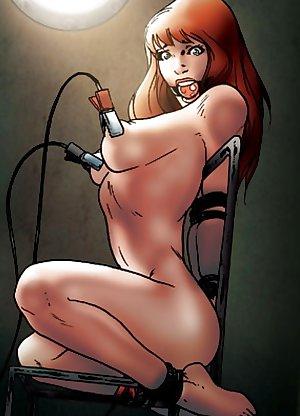 anime cartoon female electrosex