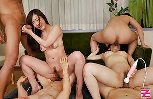 Japanese Teen Group Sex